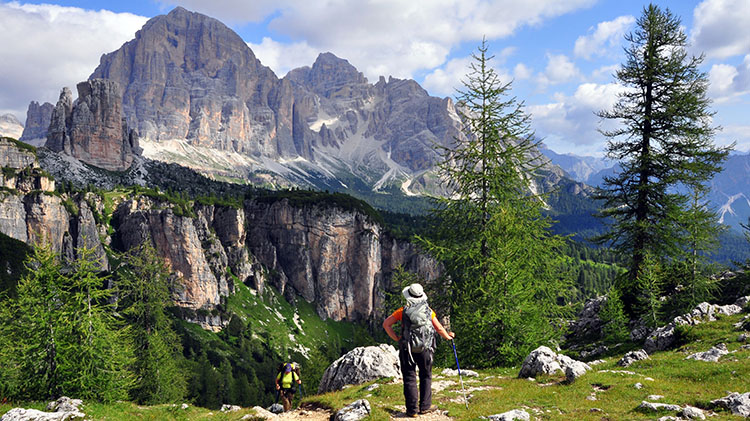 Dolomites Italian Alps Hiking Tour