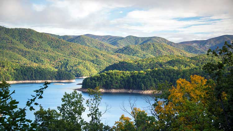 Fontana Lake - Hazel Creek Loop