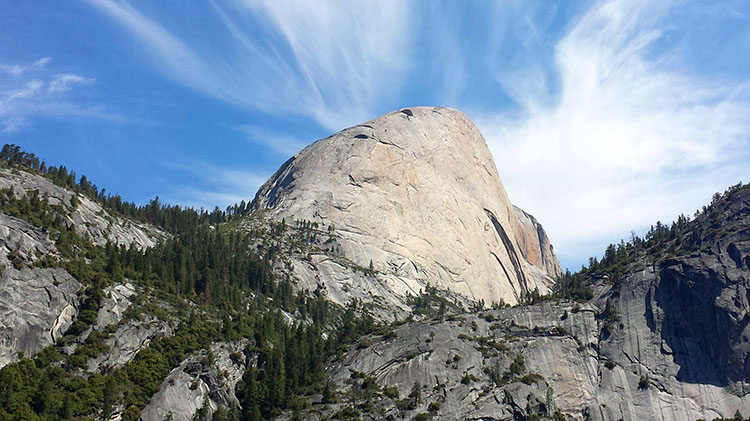 Half Dome Backpacking Trip