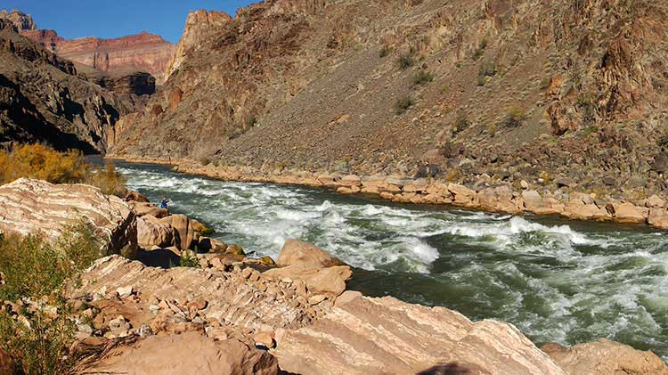 Granite Rapids in the Grand Canyon
