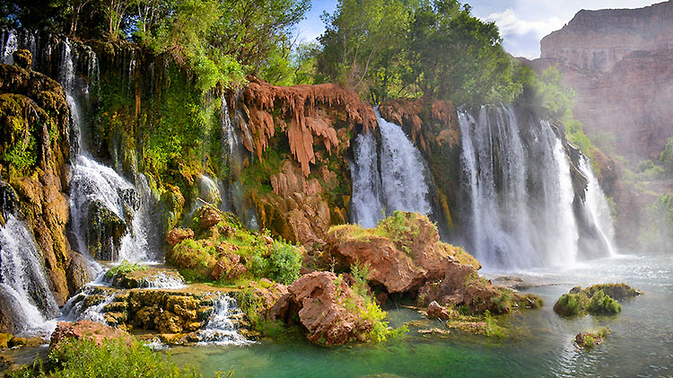 Havasu Falls Backpacking Tour