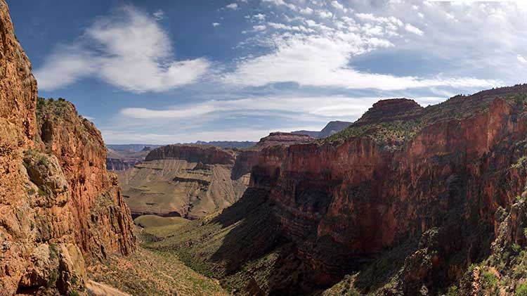 View from Horseshoe Mesa