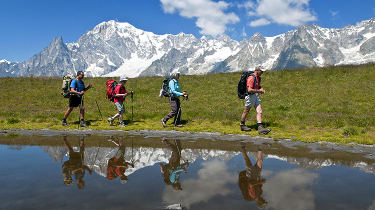 Tour du Mont Blanc Alps Hiking Tour
