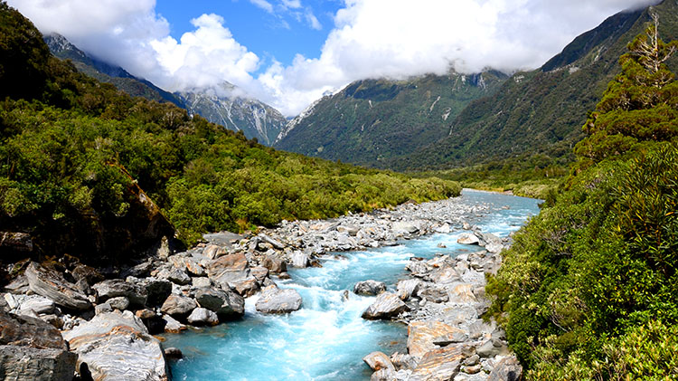 New Zealand South Island Hut Trek