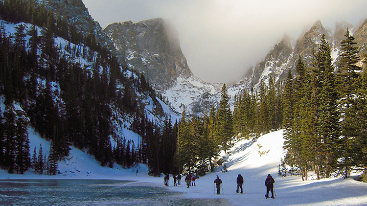 Emerald Lake Snowshoe