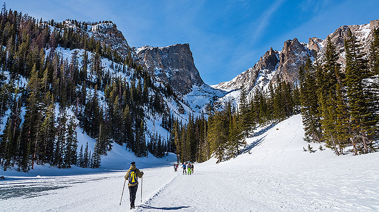 Rocky Mountain Snowshoe Tour