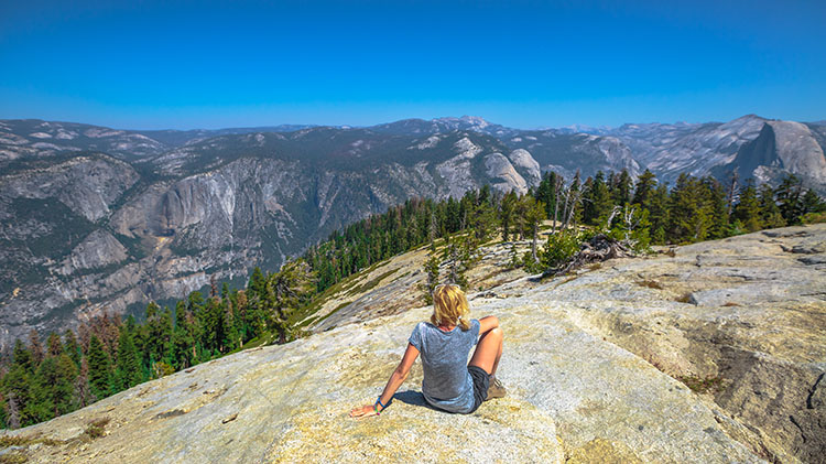 Taft Point and Sentinel Dome Day Hike