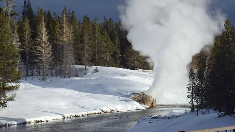 Yellowstone Cross Country Ski Tour