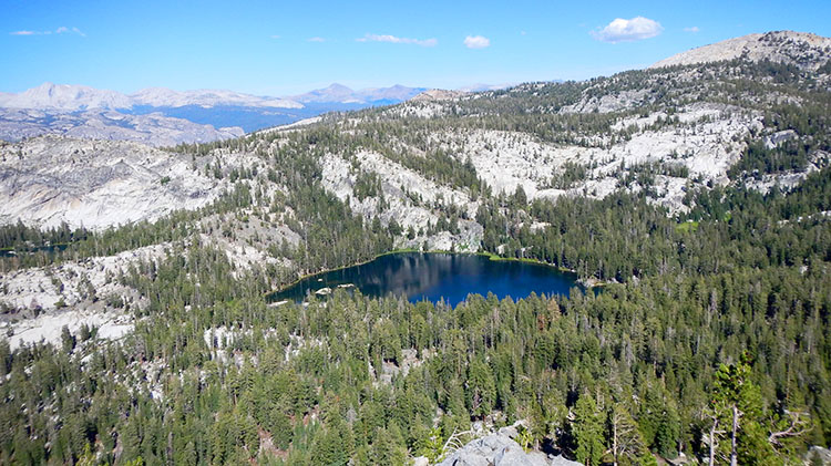 Ten Lakes Basin Backpacking Trip