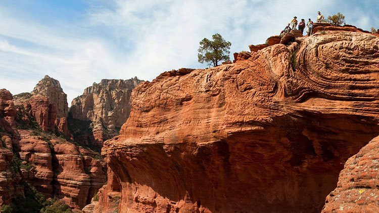 Womens Sedona red Rock Camping Tour