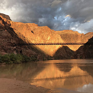 Black Bridge over the Colorado River